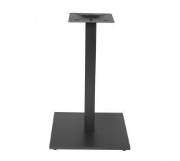 bordsstativ kvadrat stål svart